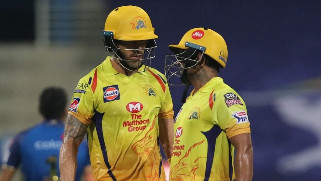 Ambati Rayudu and Faf du Plessis lifted the team from the brink of crisis