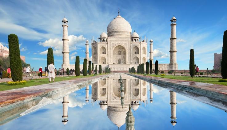 Taj Mahal, Uttar Pradesh - 20 must visit places in India