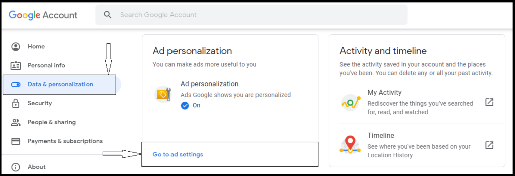 How to delete google advertisers knows about you - Medico topics