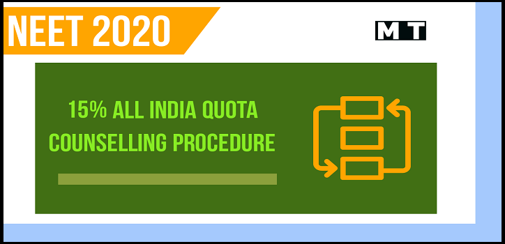 NEET 2020   All India Quota - Counselling Date, Fees, Schedule, Procedure