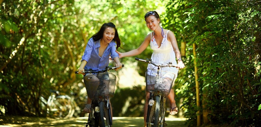 Benefits of cycling to reduce risk for heart disease