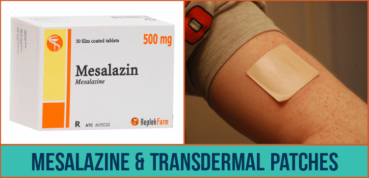 Mesalazine and Transdermal Patches (Nicotine patches)