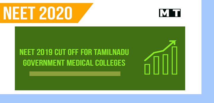 NEET cut off 2019 in Tamilnadu
