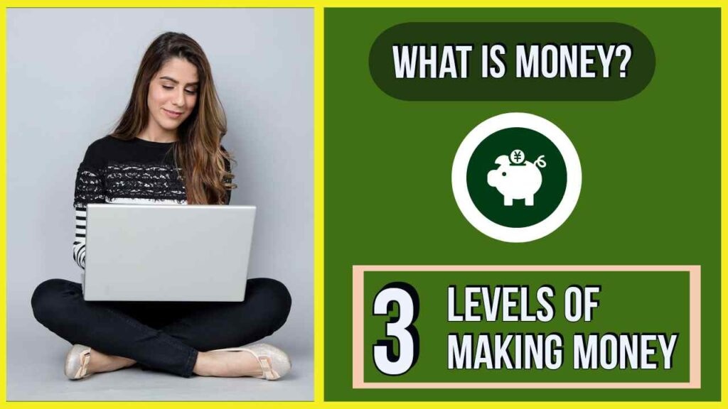 3 levels of making money online