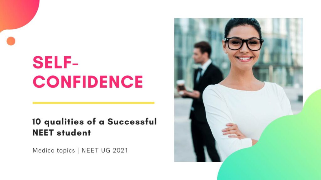 Self-Confidence -Qualities of successful students