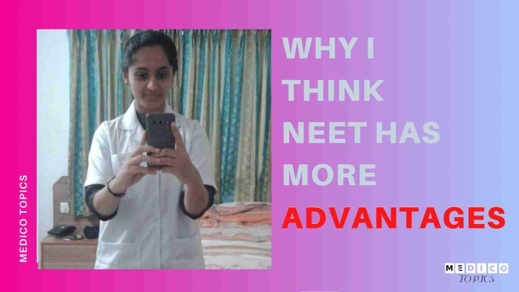 Advantages of NEET exam for Tamil Nadu students