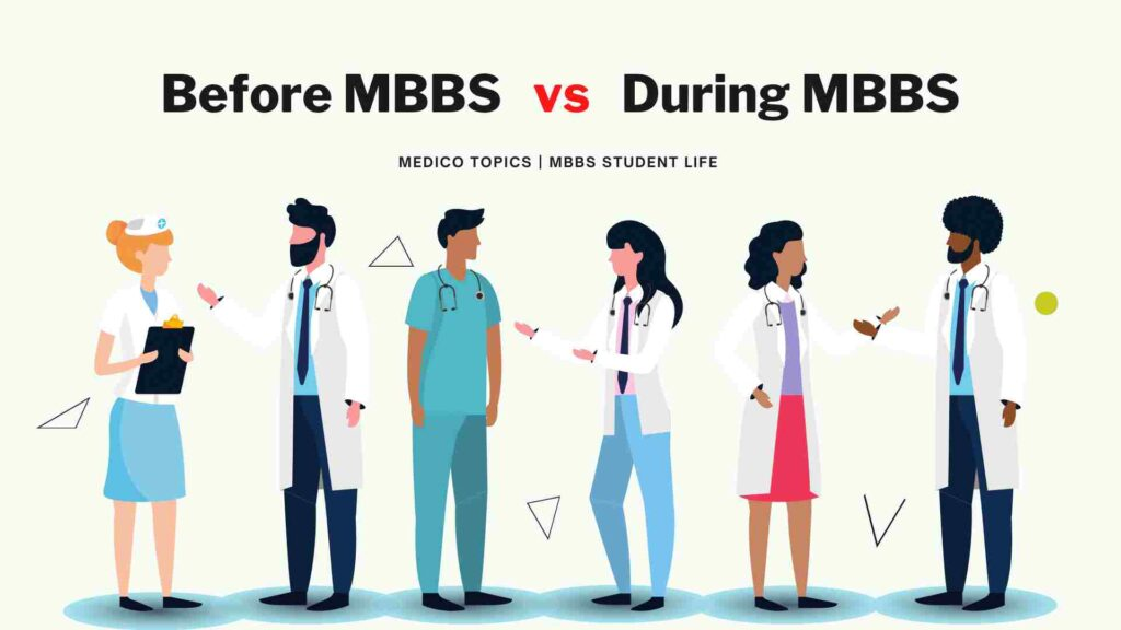 Before MBBS vs After MBBS - Medical student life