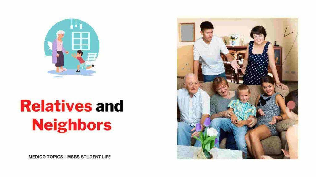 MBBS student relatives