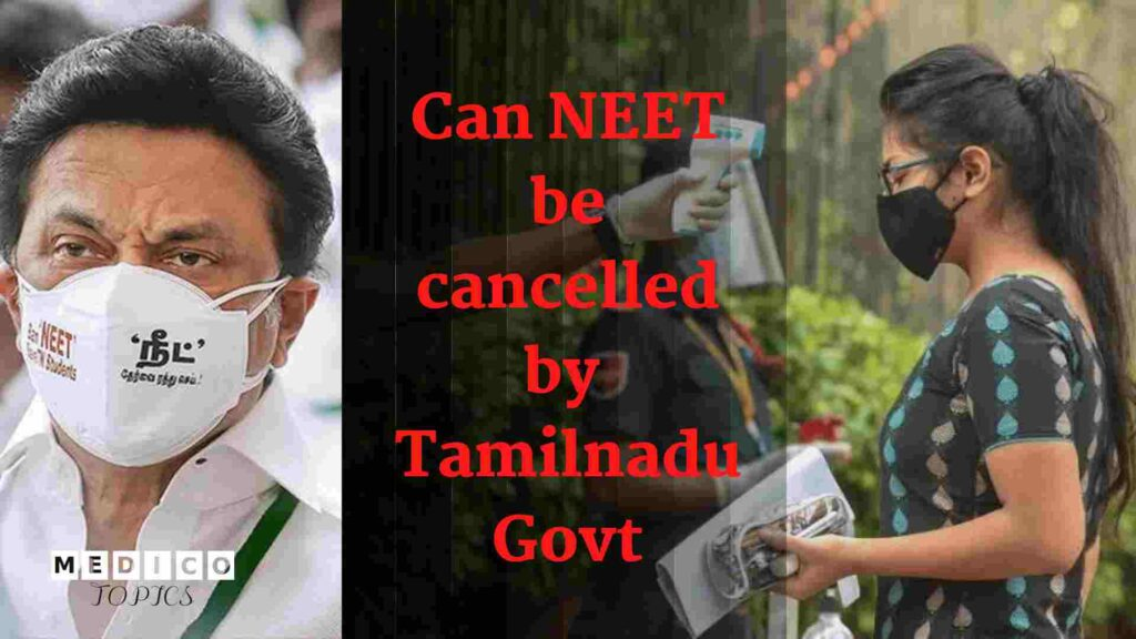 will neet 2020 be cancelled in tamil nadu
